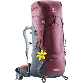 Deuter Aircontact Lite 45+10 SL Backpack Dam maron-graphite